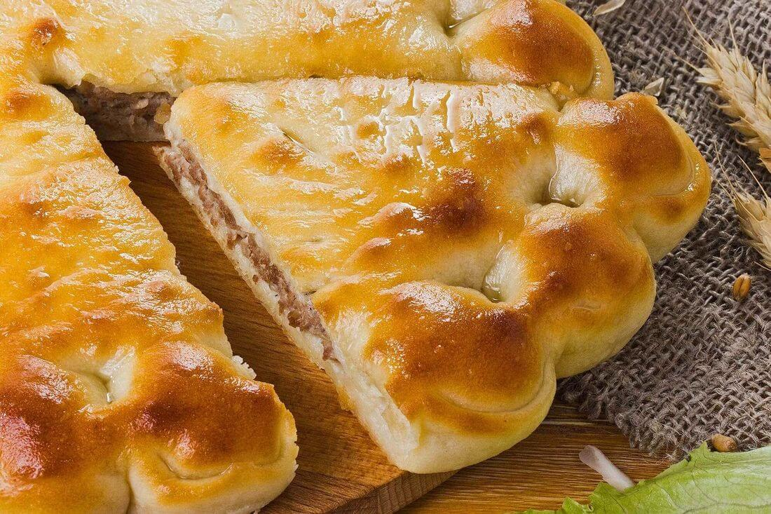 Начинка осетинского пирога с говядиной и капустой