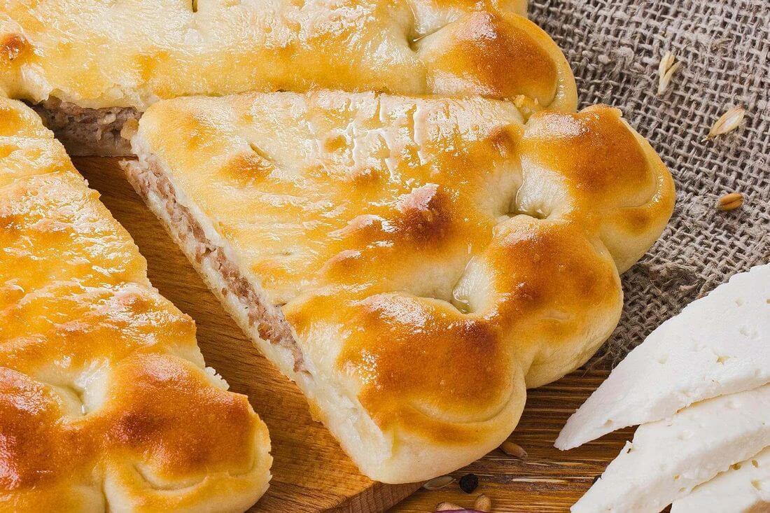 Начинка осетинского пирога с говядиной и сыром