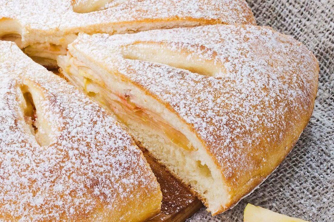 Начинка осетинского пирога с яблоком