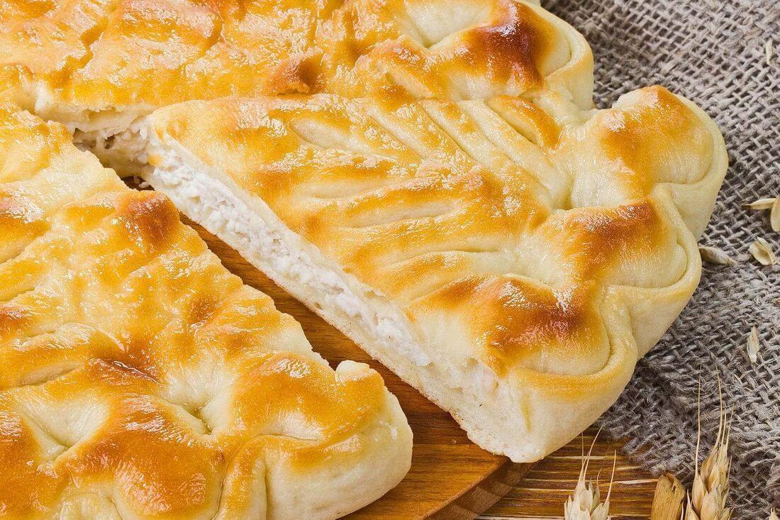 Начинка осетинского пирога с индейкой