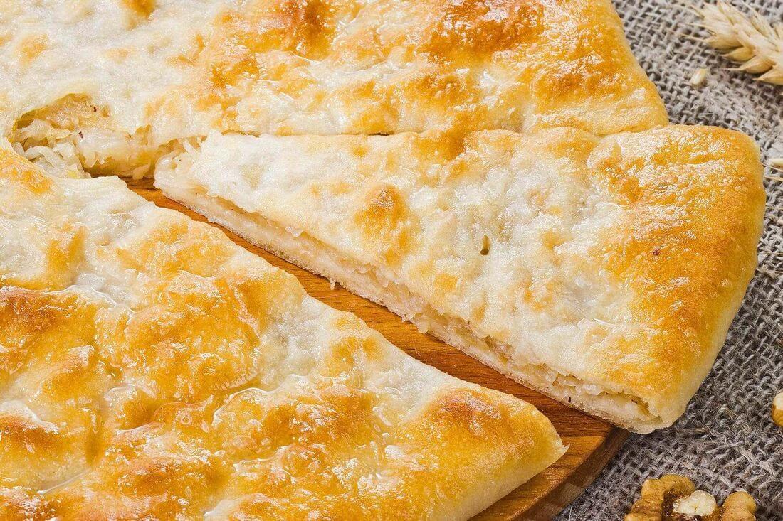 Начинка осетинского пирога с капустой и грецким орехом