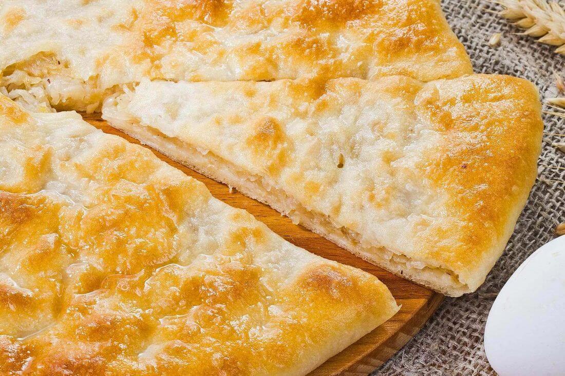 Начинка осетинского пирога с капустой, яйцом