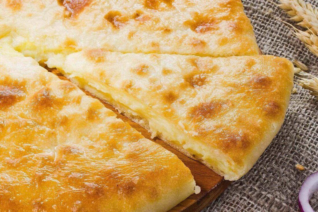 Начинка осетинского пирога с картофелем и зеленью