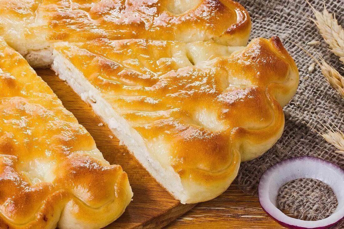 Начинка осетинского пирога с курицей и капустой