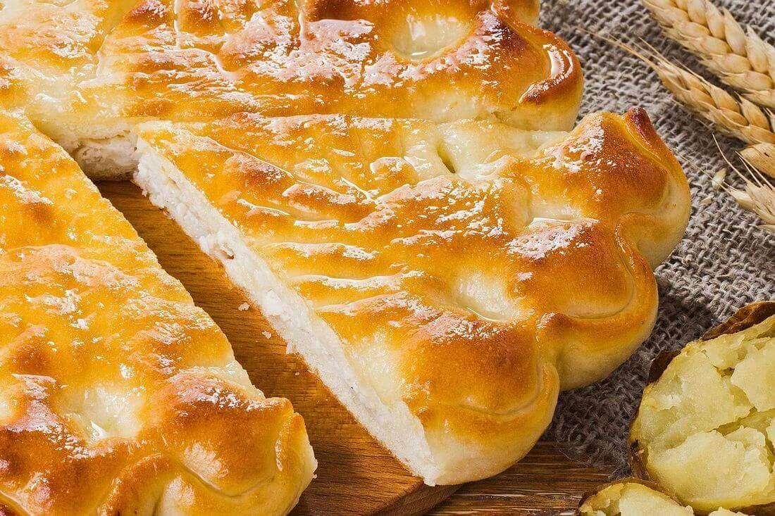Начинка осетинского пирога с курицей и картофелем