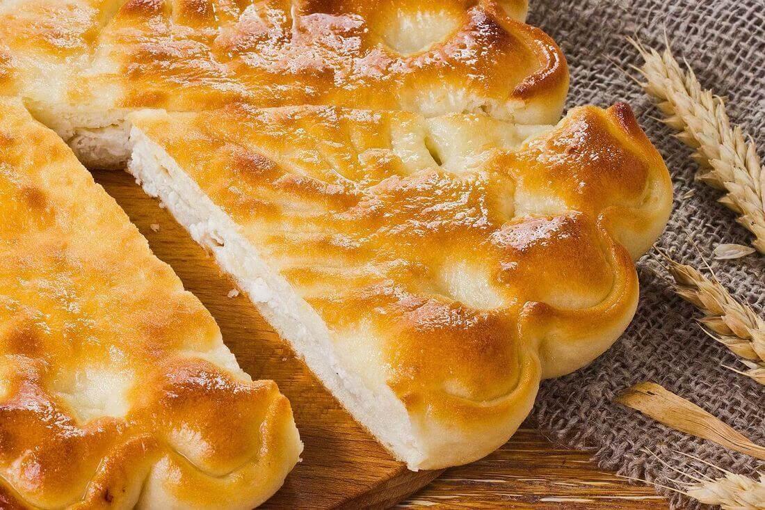 Начинка осетинского пирога с курицей