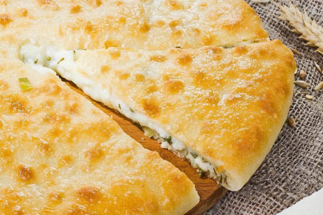 Начинка осетинского пирога с сыром и зеленью