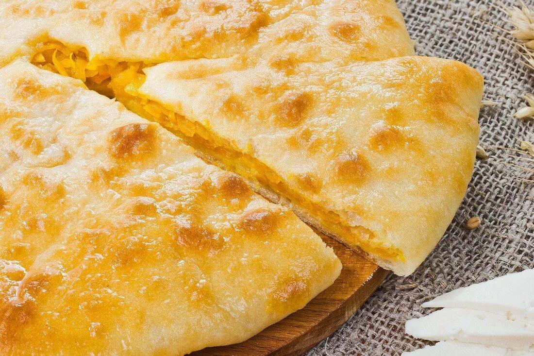 Начинка осетинского пирога с тыквой и сыром