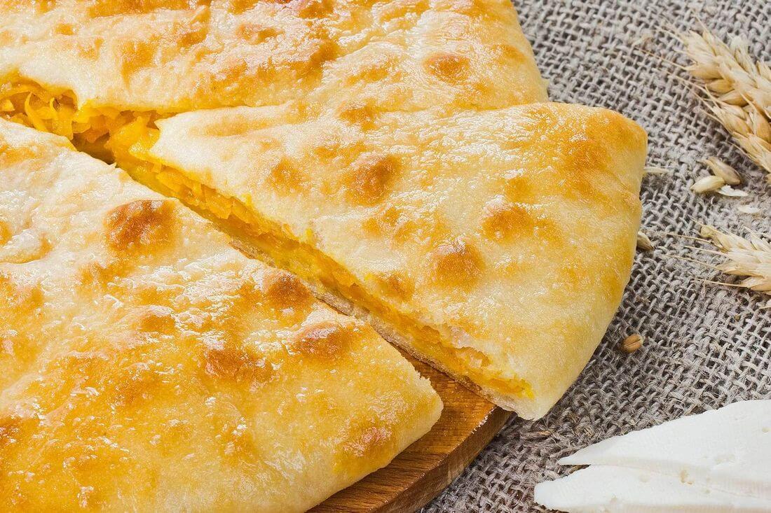 Начинка осетинского пирога с тыквой (насджин)