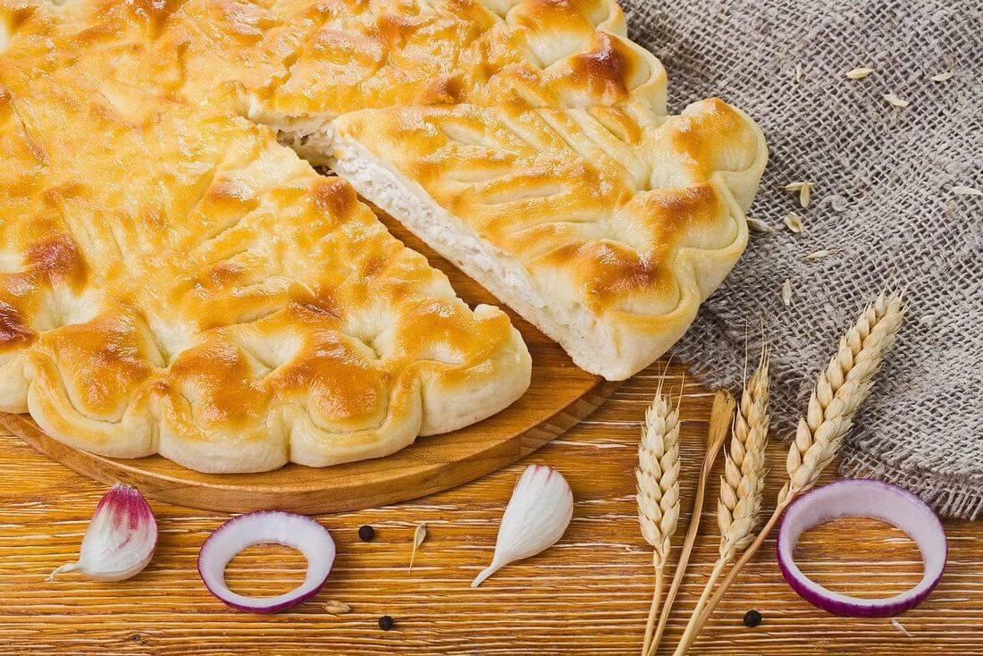 Осетинский пирог с индейкой