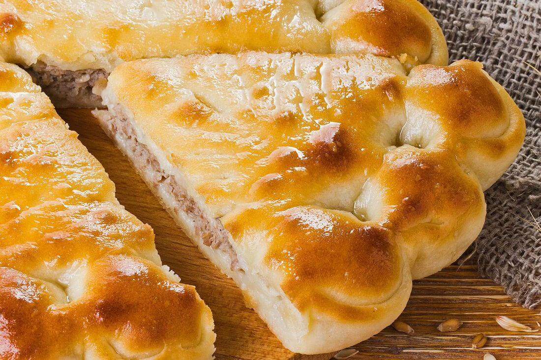 Начинка осетинского пирога с мясом